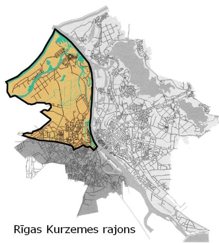 Rigas Karte Rajoni